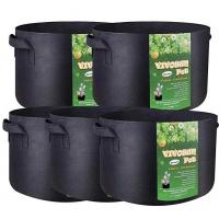 Quality 3 Gallon 5 Gallon 10 Gallon 25 Gallon 100 Gallon Vertical Garden Grow Bags Aeration Fabric Pots Container wholesale