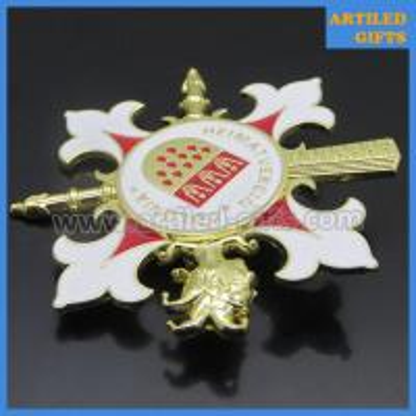 Heimatverein Colonia 3D metal pin badge 1