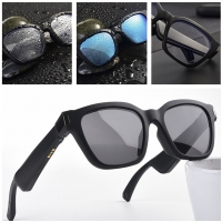 Quality Bluetooth 5.0 Smart Glasses Music Voice Call Sunglasses Can Be Matched With Prescription Lenses Compatible IOS Android wholesale