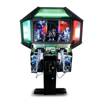 Buy cheap 110v Shooting Arcade Machine 2 Players Classic Shooter Games from wholesalers
