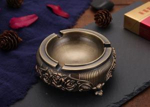 Quality Gift L149.5mm Smoking Decorative Zinc Alloy Ashtray wholesale
