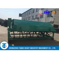 Quality Waste Processing Compost Turner Food 5 - 8 Tons Per Hour Capacity Carbon Steel Made wholesale