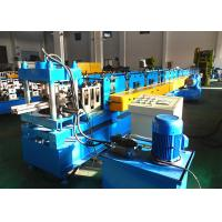 Quality Heavy Duty Upright Roll Forming Machine , Warehouse Storage System Rack Rolling Machine wholesale