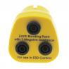 Buy cheap 1M resistor 3X4MM Banana sockets yellow ESD Earth bonding plug from wholesalers