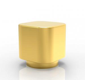 Quality Whole Sale Factory New Design customized gold color Zamak Perfume Bottle Caps wholesale