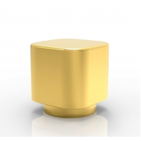 Buy cheap Whole Sale Factory New Design customized gold color Zamak Perfume Bottle Caps from wholesalers