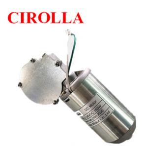 Quality DC 40W Worm Gear Motor 12v High Torque For Medical Ventilator / Breathing Machine wholesale