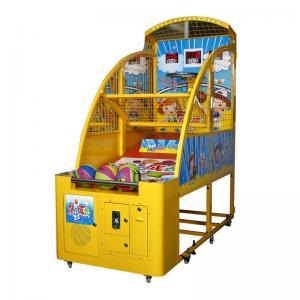 Quality Kids Basketball Machine Sports Arcade Machine 1 - 2 Players 100W wholesale