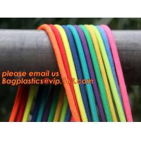 Quality Best quality Green amusement equipment polyester rope 5mm nylon braided rope wholesale