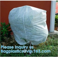 Quality Heavy Winter Protection Plant Cover Winter Cover Anti-frost Zipper And Drawstring Cold Protection Non-woven Plant Antifr wholesale