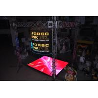 Quality Energy Saving Transparent Led Display , P20 LED Curtain Display Easy To Install wholesale