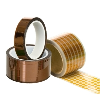 Quality Kaptons Polyimide Film 3D Printer Amber ESD Tapes wholesale