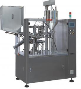 Quality Cosmetic Cream  Shampoo  Oil Plastic Tube Filling Sealing Machine wholesale