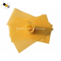 Quality Natural 4.9mm Cell 41.5*19.5cm Bee Foundation Sheets wholesale