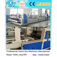 Quality 6000 KGS Fully Automatic Folder Gluer Folding And Gluing Machine For Carton Box wholesale