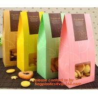 Quality Customize Translucent Window, Brown Greaseproof Kraft Paper Bag, Special Opp Window Bag, window bags, paper window bags, wholesale