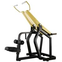 Quality Professional Yellow Hammer Strength Plate Loaded Gym Equipment / Pull Down Machine 152kg wholesale