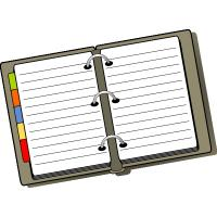 Quality A5 page a day diaries wholesale