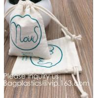 Quality Drawstring Bags Reusable Muslin Cloth Gift Candy Favor Bag Jewelry Pouches for Wedding DIY Craft Soaps Herbs Tea Spice B wholesale