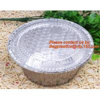 Quality disposable food packaging aluminum foil container, tray, box Customised food Aluminum Foil, bakery box, bakery container wholesale
