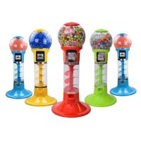 Quality Gashapon Toy Arcade Prize Machines / Non-electricity Spiral Gumball Machine wholesale