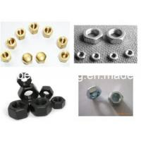 Buy cheap DIN934, DIN935 M10/M12/M14/M16/M24 Hex Buts from wholesalers