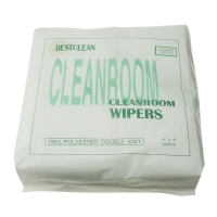 """Quality 9x9"""" Polyester Cleanroom Microfiber Wiper 140gsm Non Woven wholesale"""