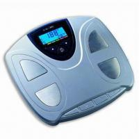 Quality Body Fat/Hydration Monitor Scale with 6-color LCD Display wholesale