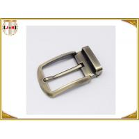 Quality Environmental Safety Plating Reversible Belt Buckle With CNC Engrave Logo wholesale