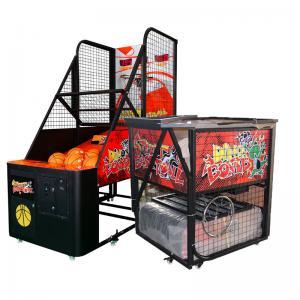 Quality Folding Arcade Basketball Game Machine / Street Basketball Machine wholesale