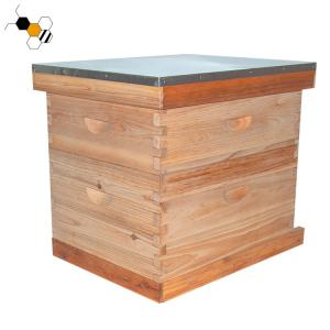 Quality Moisture Proof Wooden 10 Frame Langstroth Bee Hive wholesale