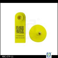 Goat RFID Animal Ear Tags , Two Pieces Livestock Tracking Tag ETP11