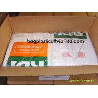 Quality Compost bags Corn Starch Bags Factory Price OK Compost 100% Corn Starch Biodegradable T-Shirt Carry Bags wholesale