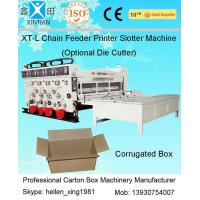 Quality High Speed Auto Carton Making Machine With 15T Pneumatic Locking Printing Press Rollers wholesale
