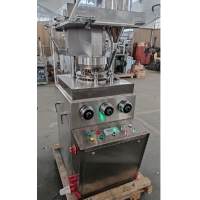 Quality Small-scale Batch Production Pill Candy Tablet Making Machine 50KN Different Geometrical Shape Tablet Press Machine wholesale