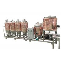 Quality Automatic Control 4BBL Home Pub Equipment Electricity Heating For Beer Fermentation wholesale