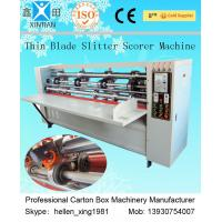 Quality Low Noise Corrugated Carton Cutting Machine Of Cardboard Printing wholesale