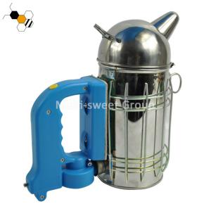 Quality Apiculture European Style 10cm diameter Electric Bee Smoker wholesale