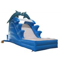 Quality Giant Dolphin Inflatable slide wholesale