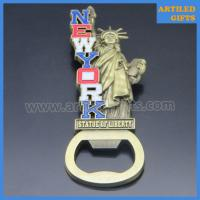 Quality Antique imitation 3D metal crafts New York States Statue of Liberty bottle opener wholesale