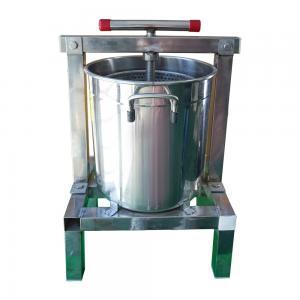 Quality 23cm Diameter Stainless Steel Beeswax Machine Wax Press wholesale