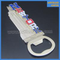 Quality 3D casting nickle metal New York Empire State Building souvenir bottle openers wholesale