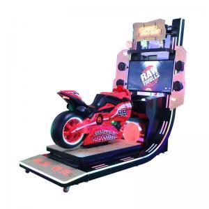 Quality Motor Racing Simulator Indoor Video Racing Game Machine 250W wholesale