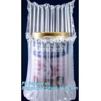Quality air cushion pillow bags, inflatable air filled pillow bag, shockproof recycable air pillow glass bottle bag, bagplastics wholesale