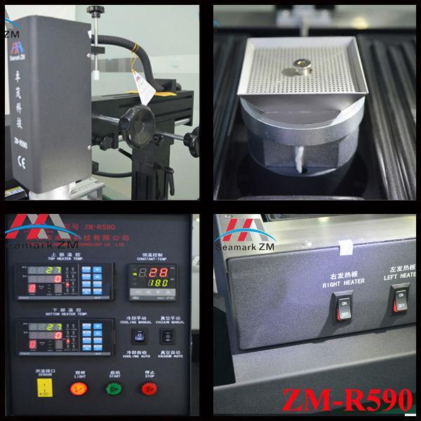 Economic bga rework robot ZM-R380B with english video for soldering PCB board