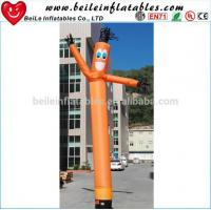 Quality Holiday celebrations Inflatable fresh orange sky dancer wholesale