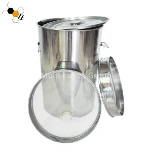 Quality Beekeeping Honey Tank With Strainer Apiculture Tools wholesale