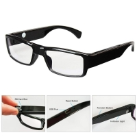 Quality NO Hole Portable Invisible DVR Video Camera Eyeglasses TF Card wholesale