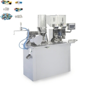 Quality Powder Granule Hard Capsule Filling Machine Touch Screen Control wholesale