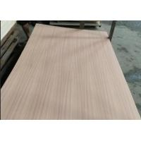 Eco Friendly Fancy Plywood 1220x2440mm Size P/S Natural Sapele Face / Back